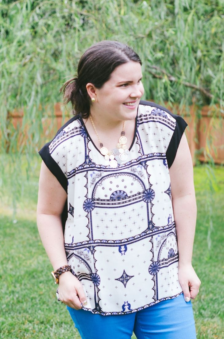 September Stitch Fix Review - What I Got & What I Kept! @stitchfix (2)
