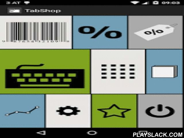 TabShop - Point Of Sale POS  Android App - playslack.com ,  TabShop is a free shop keeping, till and point of sale (POS) app for managing your own individual business. It helps you to organize your inventory stock of products, keeps track of your sale volume and turnover and prints invoices for your customers. TabShop PRO version supports the direct integration of Google spreadsheets in order to track your sells and invoices in real time!TabShop manages several tables, to generate gift…