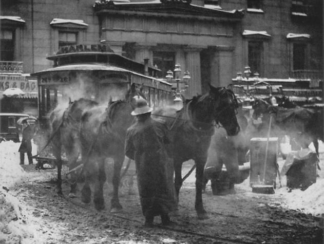 NYC. The Terminal, 1892 // Alfred Stieglitz
