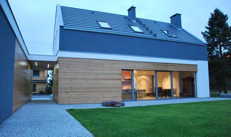 Projekt nowoczesnego domu w Kowanówku koło Poznania