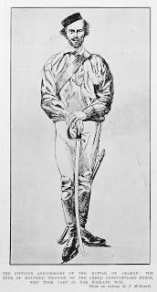 Daniel from 'The Disenchanted Soldier' was a member of New Zealand Militia, Volunteers and Armed Constabulary 1863 to 1870. He would have worn a uniform like this.  | Kintalk Whānau Kōrero: Family history blog