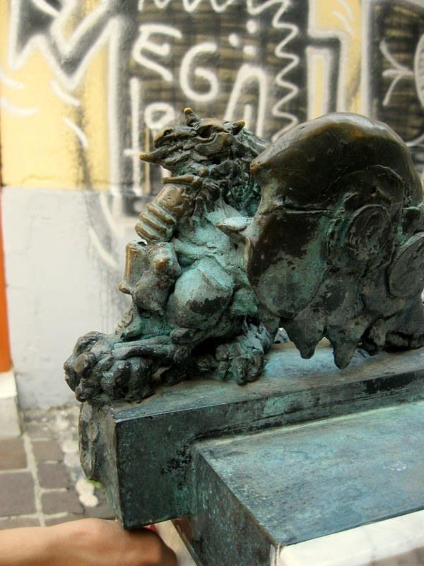 Fountain in Ljubljana