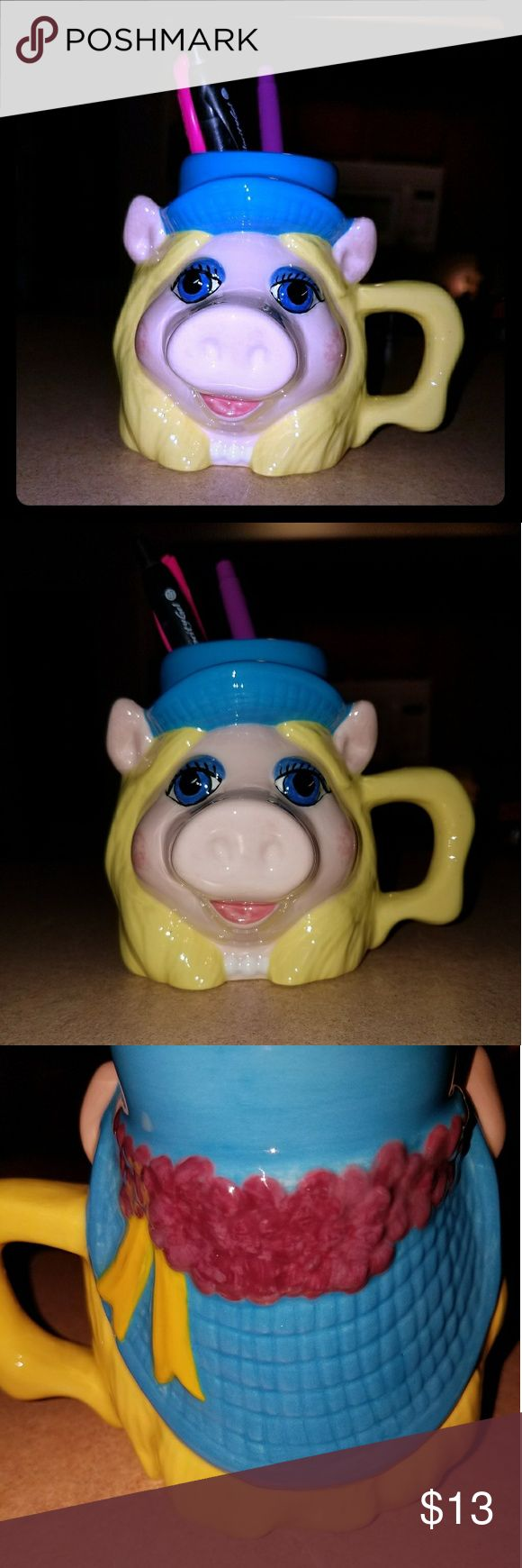 Cite little miss piggy mug Mug can be used as pen holder-small.  Pre Loved. Other