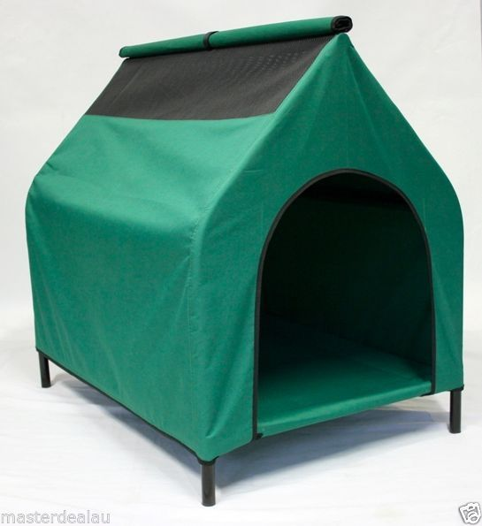 Pet house Outside Large TRAMPOLINE HAMMOCK CAT DOG PUPPY Kennel Removable Cover