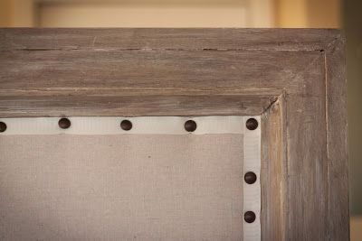 Restoration Hardware finish tutorial for Maison Inspired bed-2 coats valspar  Montpelier Ashlar Gray-let paint dry for several hours-rub on dark wax-let dry for  2 hrs-next rub on lime wax-you can make your own-mixing clear wax and white paint-mosly put on and spread it around leaving clumps in spots and working into knots-Let dry and come back and buff