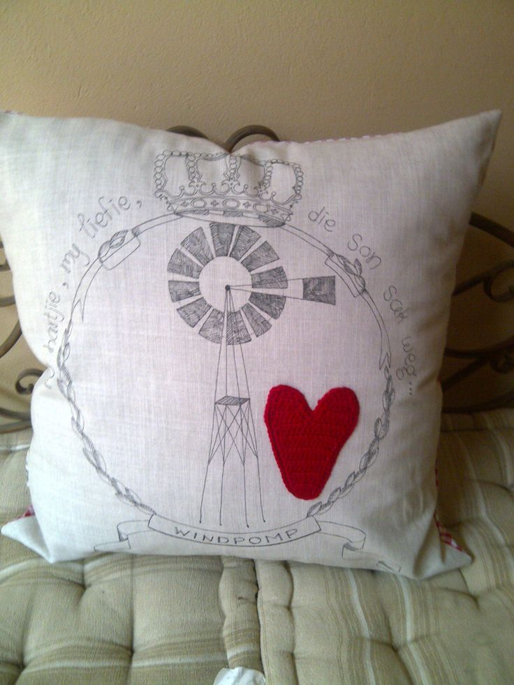 Windpomp cushion