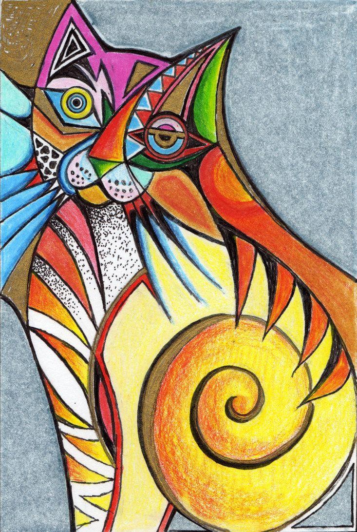 200 best art cat colorful images on pinterest cat art animals