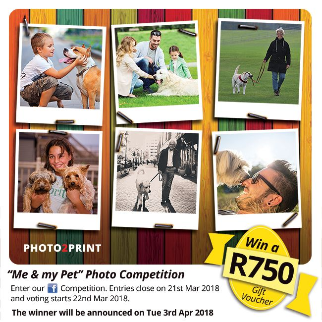 """Enter our Facebook """"Me & my Pet"""" Photo Competition. https://contest.fbapp.io/me-and-my-pet Upload your photo of you and your pet on our Facebook contest page before 22nd Mar 2018.  Entries close on 21st Mar2018 and voting starts 22nd Mar 2018.  #coolcontest #coolprize #enternow"""