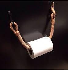Afbeeldingsresultaat voor wc rolhouder hout