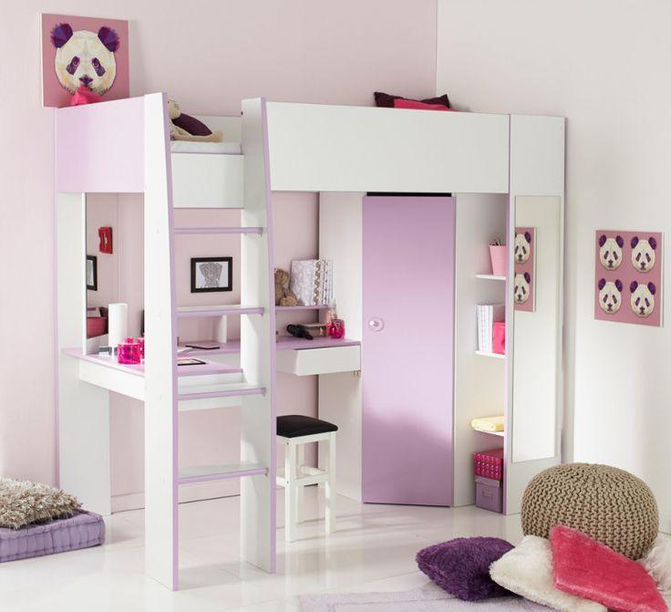 ber ideen zu hochbett schreibtisch auf pinterest kleines kinderzimmer einrichten. Black Bedroom Furniture Sets. Home Design Ideas