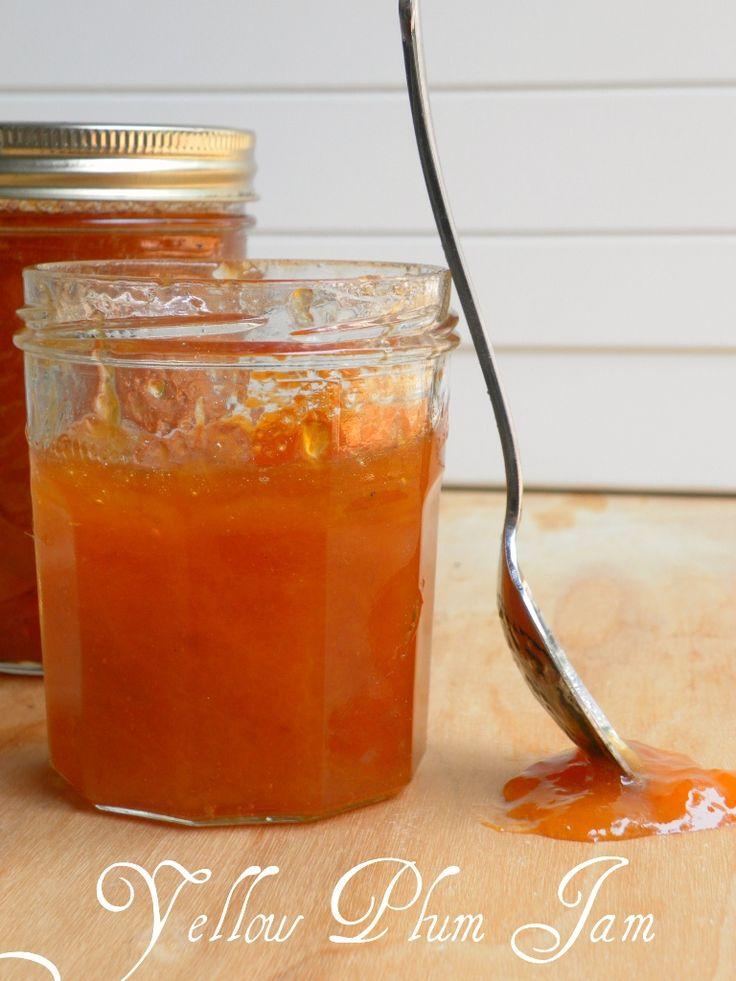 Golden Plum Jam - Deliciously Fuss-free, Equipment-free & Pectin-free