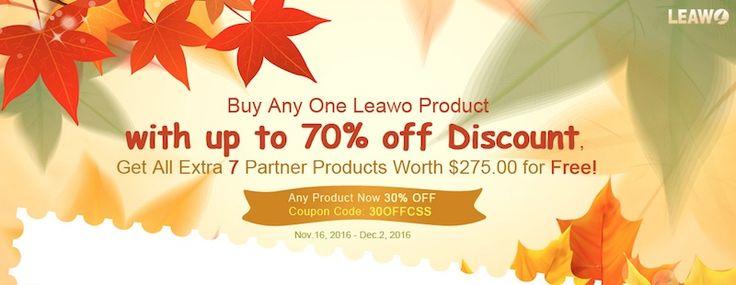 Cumpara 1 produs Leawo si primesti 7 produse Gratuite! Oferta Speciala in perioada 16 Noiembrie 2 Decembrie