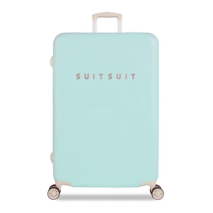 SuitSuit Hartschalenkoffer - FABULOUS FIFTIES 77cm Luminous Mint Reisegepäck