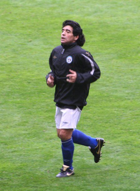 a biography of diego maradona one of soccers greatest player Diego maradona: biography diego was born in a small provincial town lanús, the suburban area of buenos aires, on october 30, 1960, into a family of an ordinary worker diego maradona and housekeeper dalma franco.
