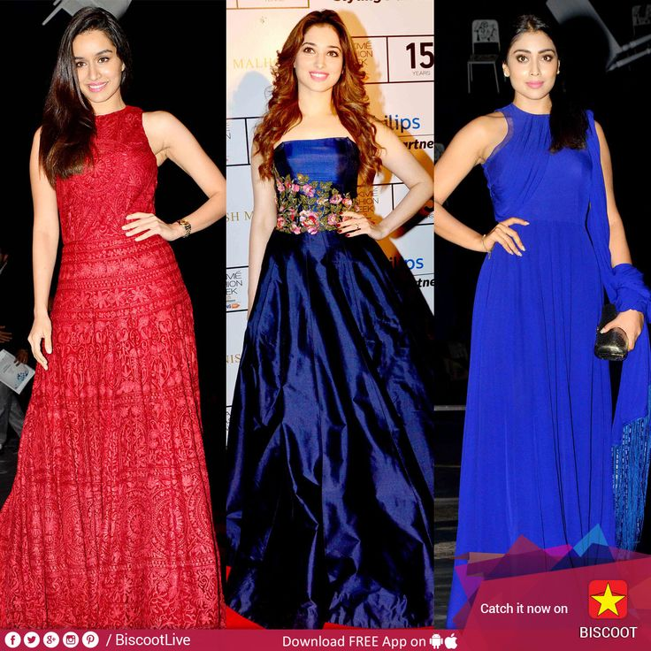 #ShraddhaKapoor, #TamannaahBhatia & #ShriyaSaran sizzle in Manish Malhotra's outfits!