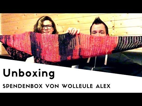 Spendenbox von Wolleule Alex - Unboxing - YouTube