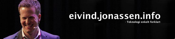 eivind.jonassen.info #fagblogg #lederblogg