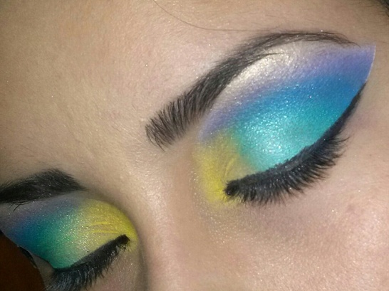 Under the Sea party makeup idea!