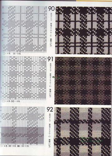 Wayuu Mochila pattern plaid