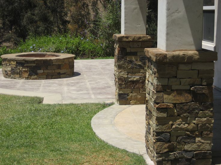 Marble Column Wall : Best stone walls pillars and columns images on
