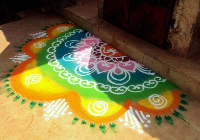 welcome rangoli designs at your home entrance