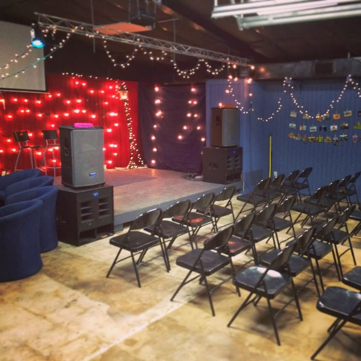 Youth Room On A Budget For Normal Size Church