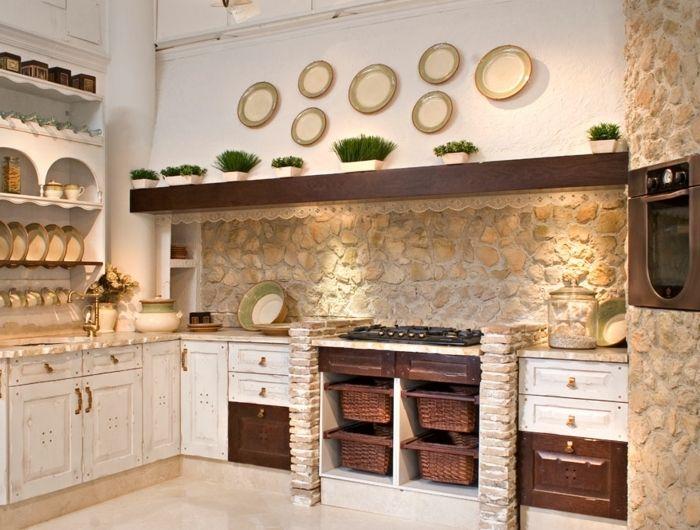 ▷ 1001 + designs et conseils pour la cuisine rustique ...