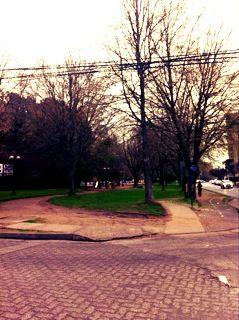Lugar donde inicia el Parque
