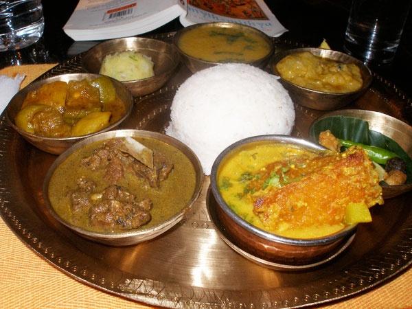 Assamese Non Veg Thali  Foods  Drinks I Love  Food, Veg -2668