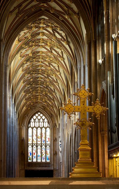 St Mary Redcliffe church, Bristol, England