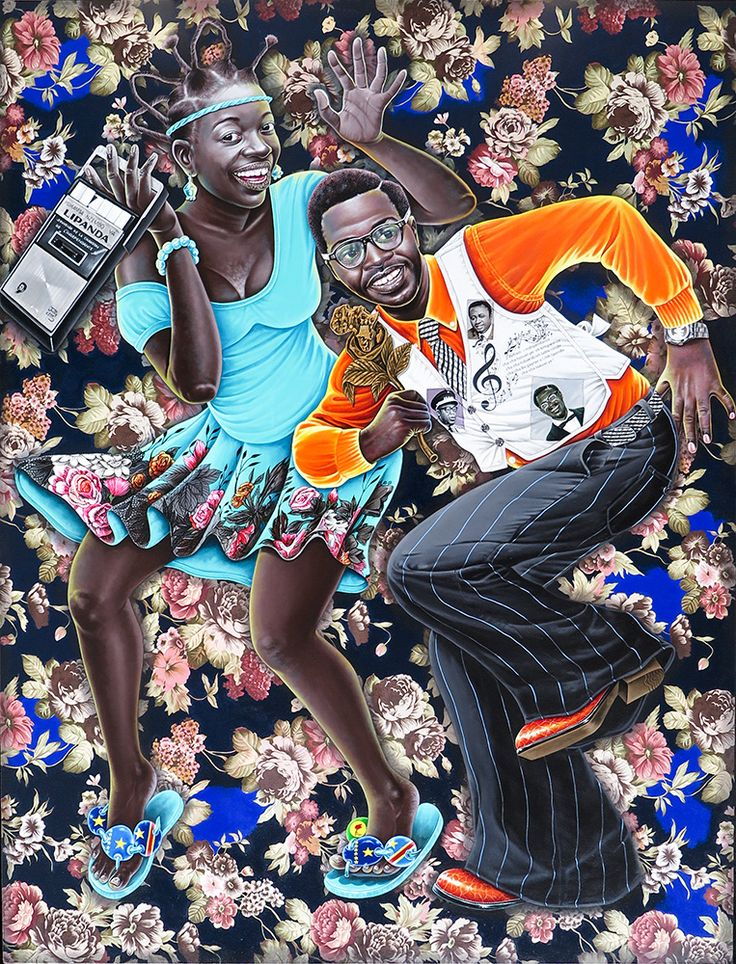Chéri Samba, Popular paintings, Artist, Cheri samba