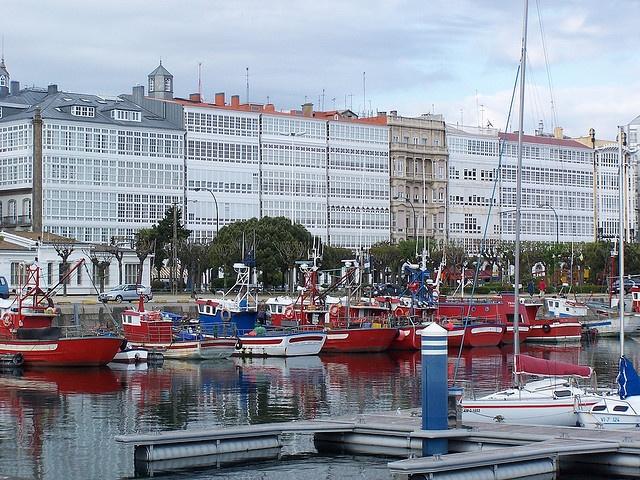Puerto de A Coruña. Foto: Flickr/iheup