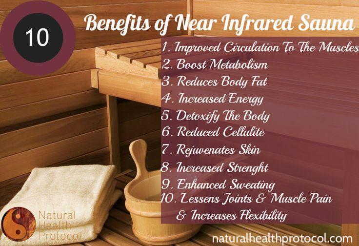 Benefits of Near Infrared Sauna... http://blog.sunlighten.com/3-in-1-infrared-series-the-unique-health-benefits-of-near-infrared-energy/