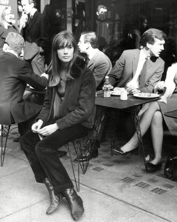 Original Street Style Star: Francoise Hardy - 1965: Cold Weather Cords from #InStyle