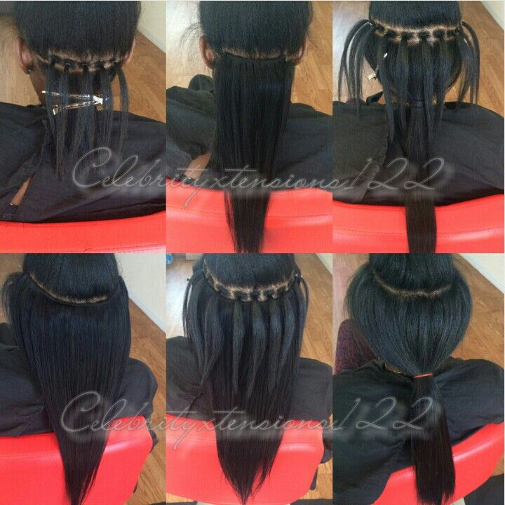 Microlink Braidless Sew In 2 Bundles 20 Quot Straight Provided