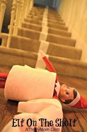Elf On The Shelf Ideas ...simple but fun by Lynn Macdonald xwULP