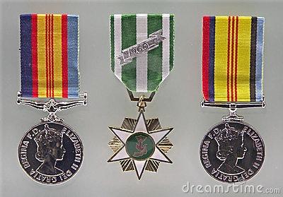 Australian War Medals by Neale Cousland, via Dreamstime