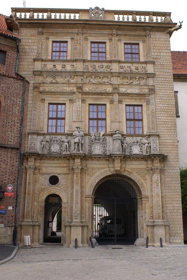 Brama zamku w Brzegu