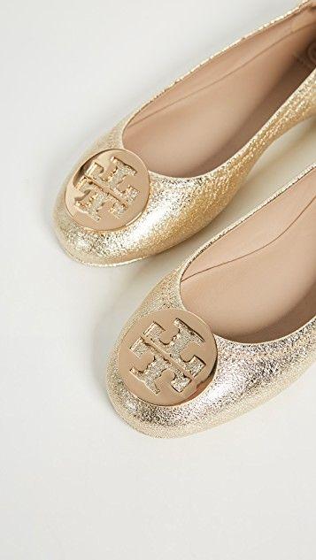 cb0f59ae5df6 Minnie Travel Ballet Flats in 2019 | Shoes | Flats, Fashion, Tory ...