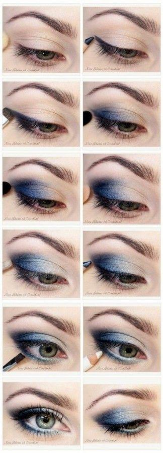 Макияж глаз по фото-инструкции! 0