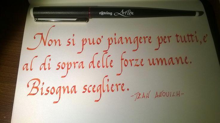 Rotring Art pen 1.9 nib, ecoline 311