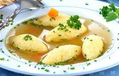 Supă cu găluște de post - Retete culinare - Romanesti si din Bucataria internationala