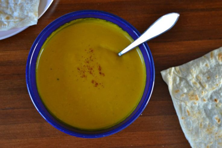 According to Katie THAI INSPIRED PUMPKIN SOUP