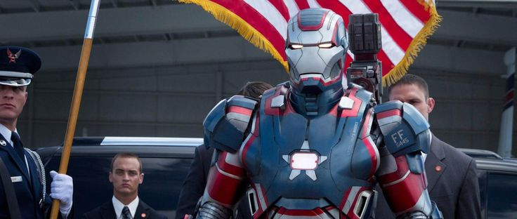 Don Cheadle as Col. James Rhodes wears the IRON MAN PATRIOT. Catch this explosive film at Newport Cinemas in Resort's World, EASTWOOD City Mall, Lucky China Town Mall and Shang Rila Plaza mall.
