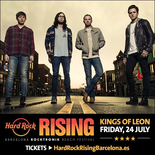 Hard Rock Rising es un festival de música que aterriza en Barcelona de la mano de Hard Rock International y Live Nation.
