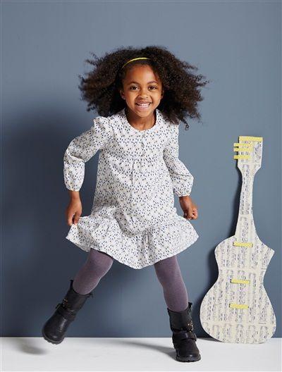 Un #vestido 3 en 1 que multiplica los estilos ¡y además participa en la movilización de Vertbaudet en favor de los programas de vacunación infantil de #Unicef! Precio desde  23,99€