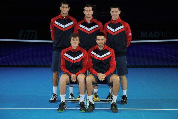 Jamie Murray Photos: Great Britain v Tunisia - Davis Cup Previews