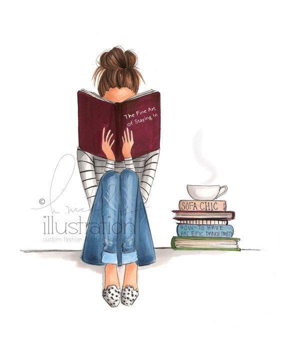 "thebookbabeblog84: ""Give me books & some tea and I'm in heaven! """