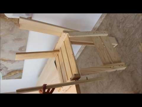 Parte 2 de nuestro proyecto comedor, montamos las sillas!