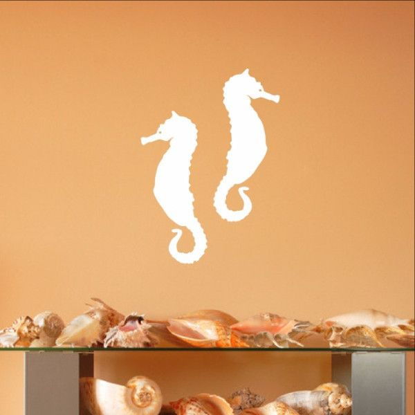 Beautiful Seahorse Style A Set of Vinyl Wall Decals